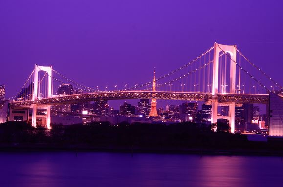 Rainbow Bridge Odaiba