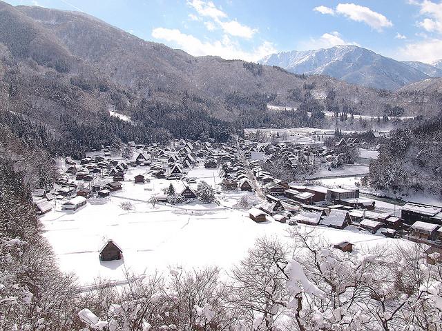 หมู่บ้านชิราคาวาโกะ ดินแดนในฝัน