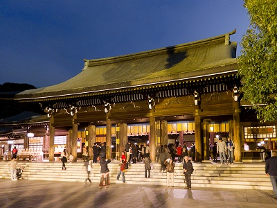 เที่ยวโตเกียวที่ศาลเจ้า Meiji Jingu