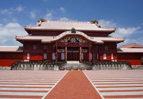 Shuri Castle ของอาณาจักรริวกิว