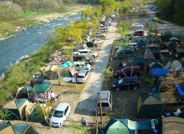 Nagatoro Auto Campground, Saitama