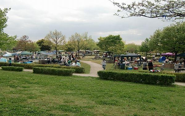 Nodake-ko park Campground, Nagazaki